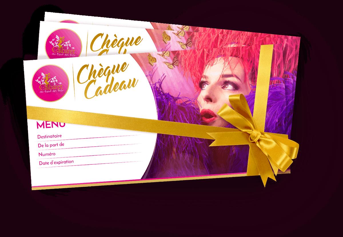 Illustration Chèque-Cadeau Cabaret du Bout des Près
