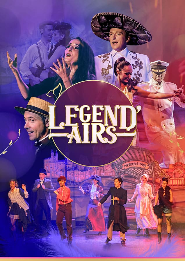 Affiche spectacle 'Legend'Airs'