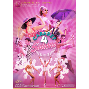 Affiche Évènement 'Cabaret 4 Saisons'