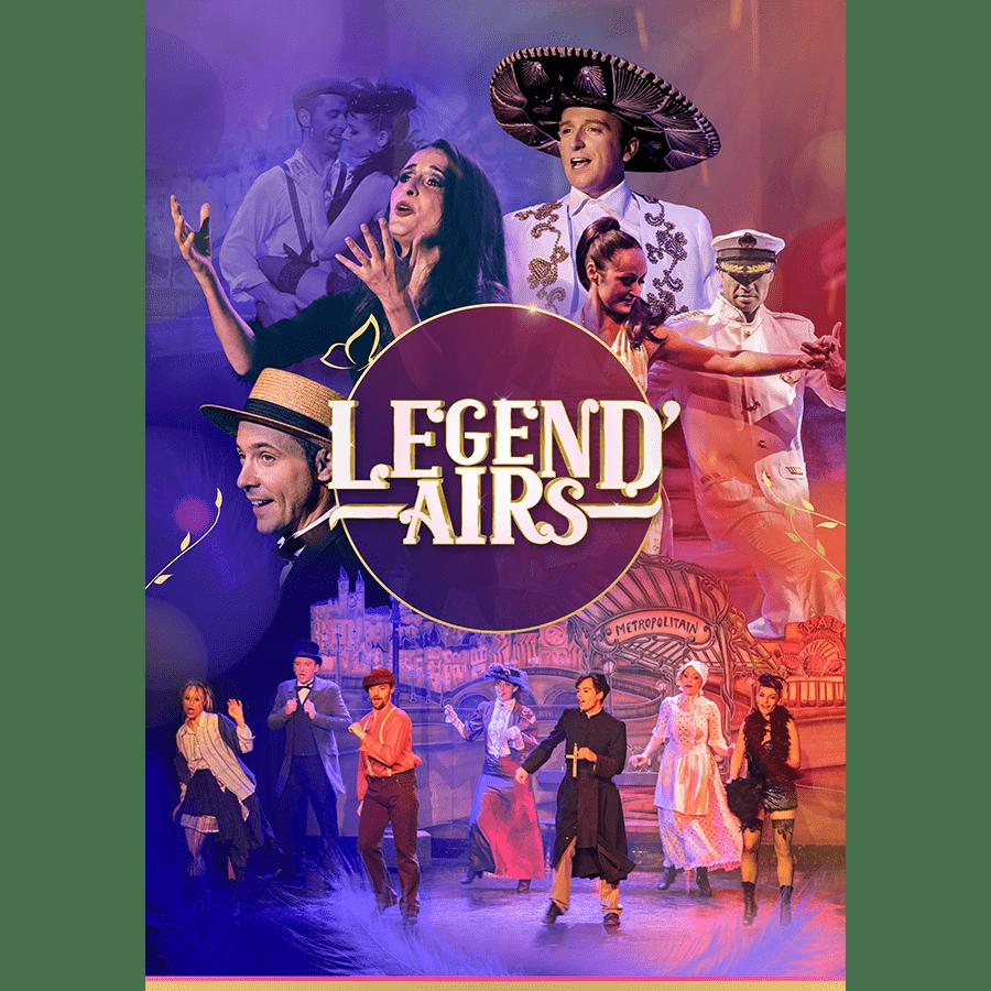 Affiche Évènement 'Legend'Airs'