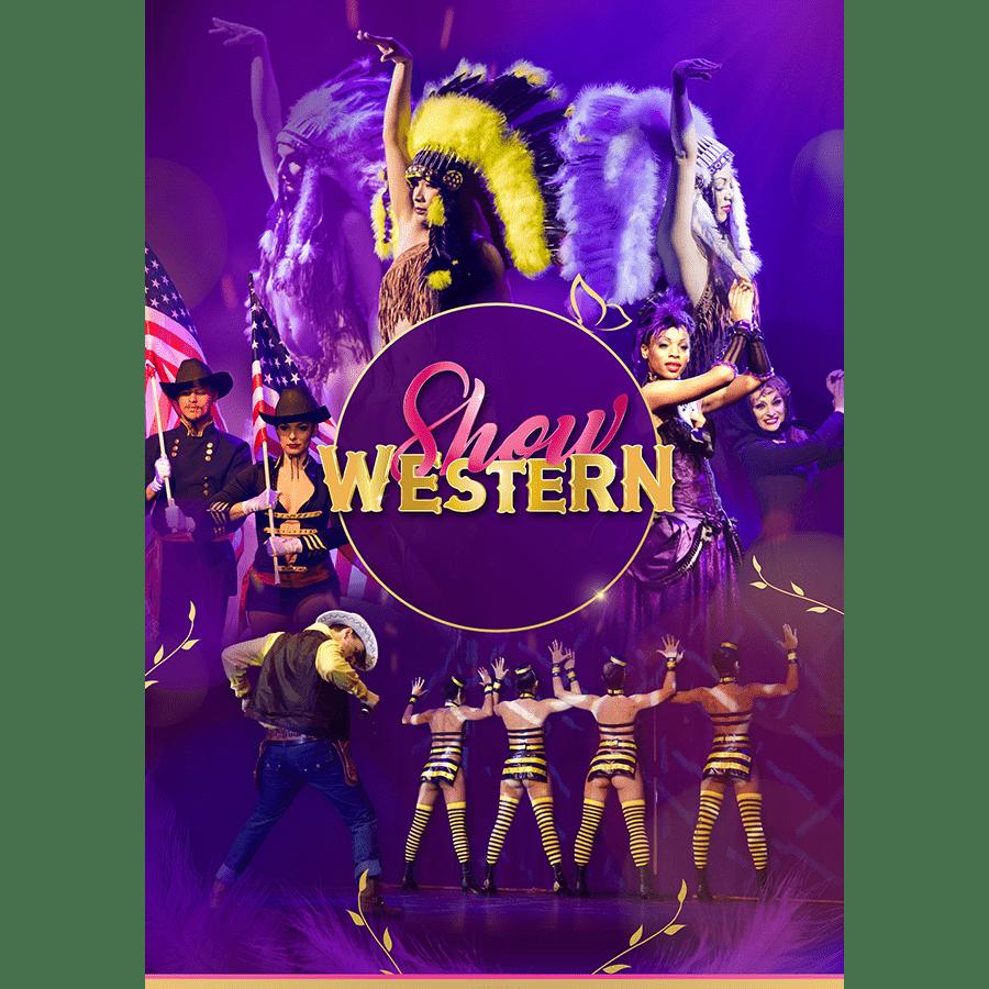 Affiche Évènement 'Show Western'